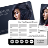 salon cards